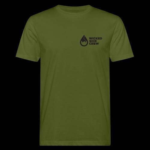 Wicked Sick Crew Tropfen schwarz - Männer Bio-T-Shirt