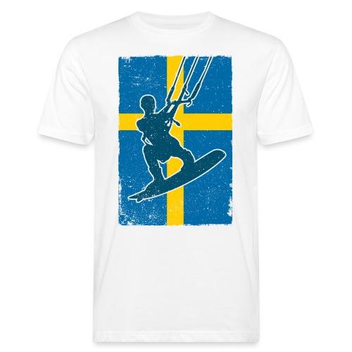 Kitesurfer Sweden - Männer Bio-T-Shirt