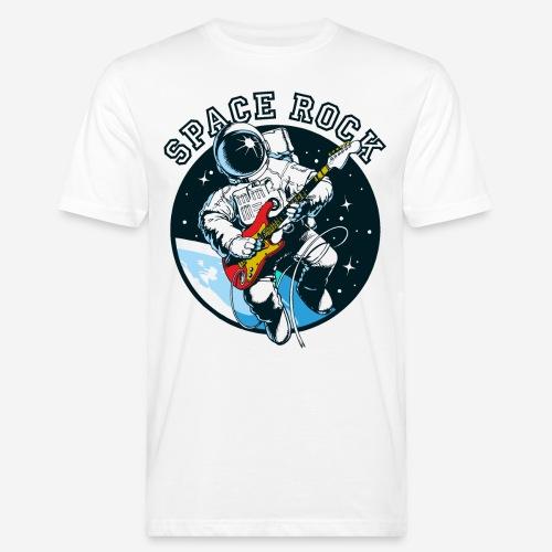 space astronaut rock - Männer Bio-T-Shirt