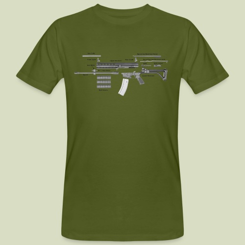 Robinson Armament XCR - Miesten luonnonmukainen t-paita