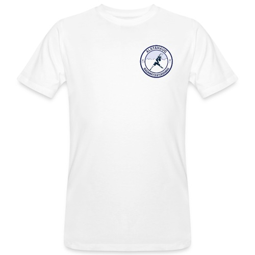 Alstahaug badminton - Økologisk T-skjorte for menn