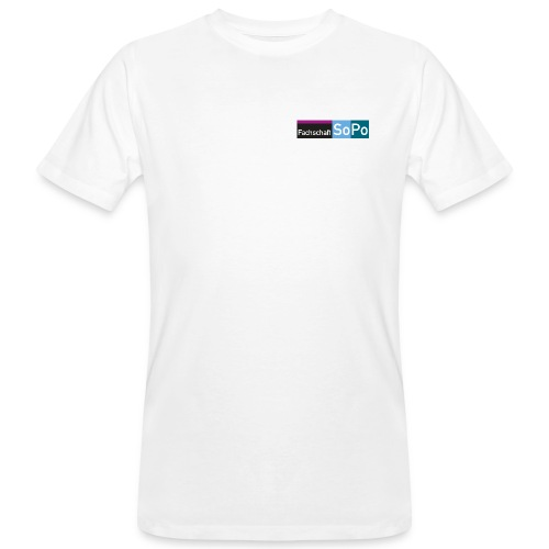 [Logo] Fachschaft SoPo - Männer Bio-T-Shirt