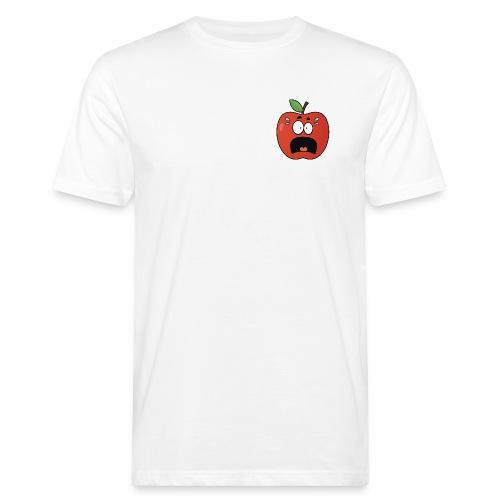 scared apple - Männer Bio-T-Shirt