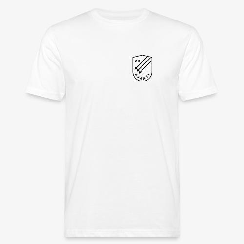 CK Avanti svart sköld - Ekologisk T-shirt herr