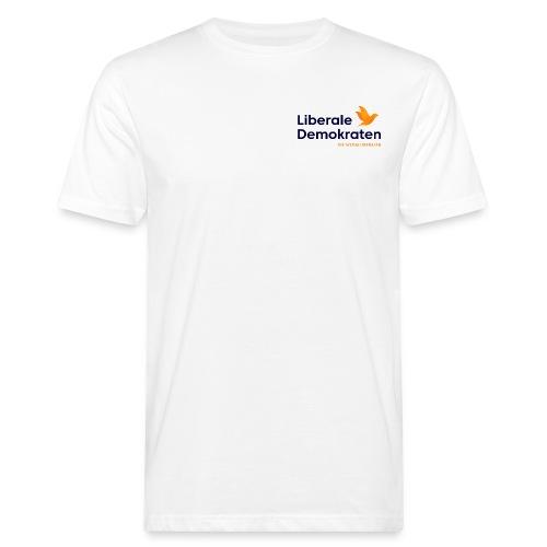 Logo Liberale Demokraten - Männer Bio-T-Shirt
