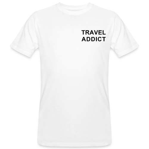 traveladdict - Men's Organic T-Shirt