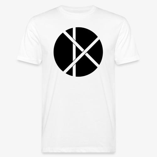Don Logo - musta - Miesten luonnonmukainen t-paita