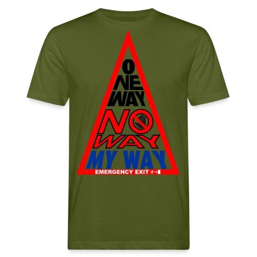 No way - T-shirt ecologica da uomo