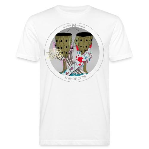 Two of Cups | Zwei der Kelche Tarot Karte - Männer Bio-T-Shirt