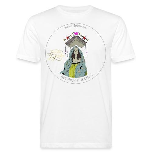 The HIGH PRIESTESS | Hohepriesterin Tarot Karte - Männer Bio-T-Shirt