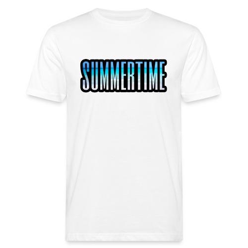 summer time - Männer Bio-T-Shirt