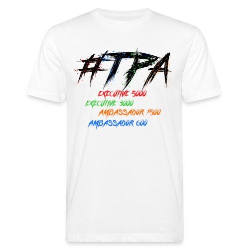 Test Logo - Männer Bio-T-Shirt