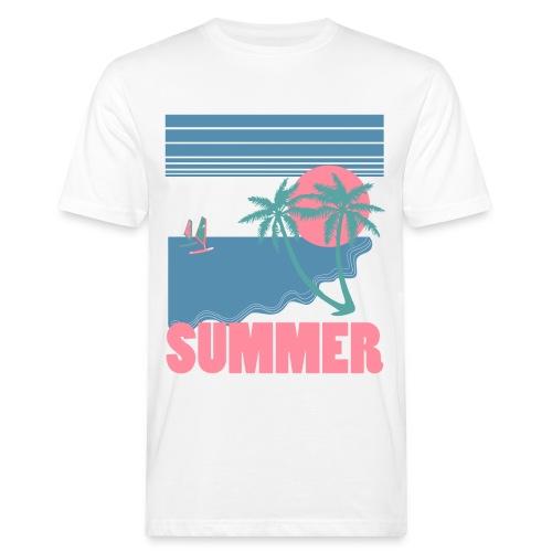 summer - Camiseta ecológica hombre