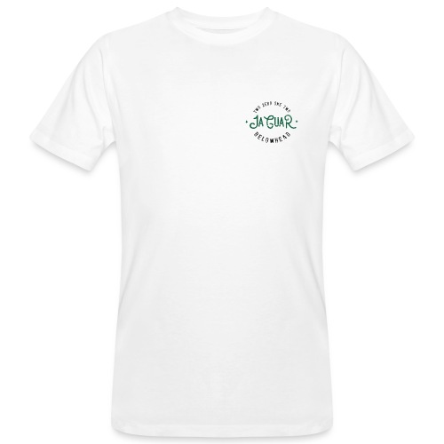 wild front green on white - Männer Bio-T-Shirt