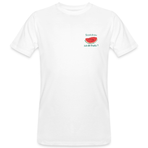 Scotch green - AW20/21 - T-shirt bio Homme