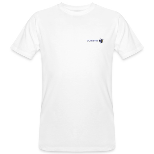wasserflohlogogross - Männer Bio-T-Shirt