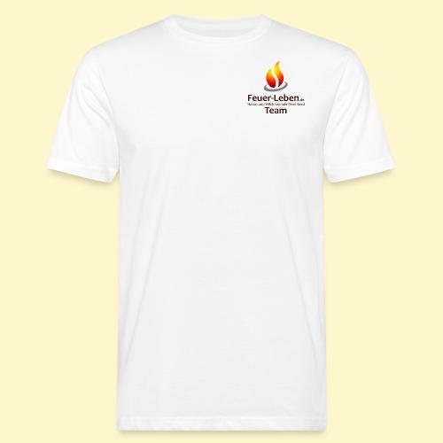 T-Shirt front Team dunkel - Männer Bio-T-Shirt