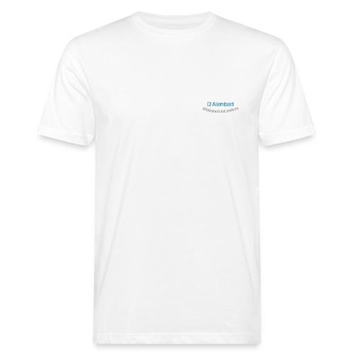 DAlembert blue - Summer 21 - T-shirt bio Homme