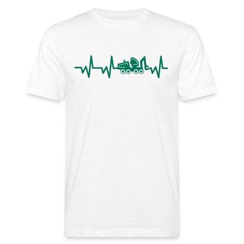 Forst | Herzschlag - Männer Bio-T-Shirt