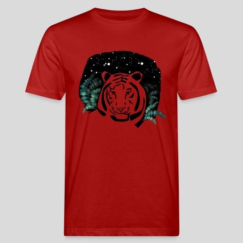 Universum Tiger - Männer Bio-T-Shirt