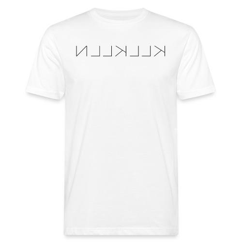 KLLKLLN Black Logo - Men's Organic T-Shirt