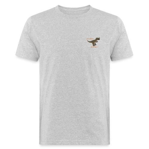Komac orange - AW20/21 - T-shirt bio Homme
