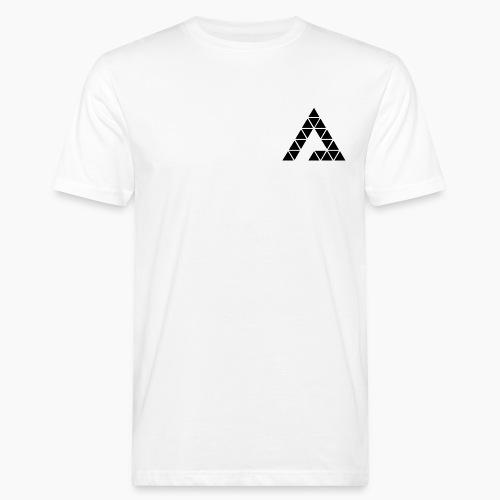 Deltamination Dreieck Schwarz - Männer Bio-T-Shirt