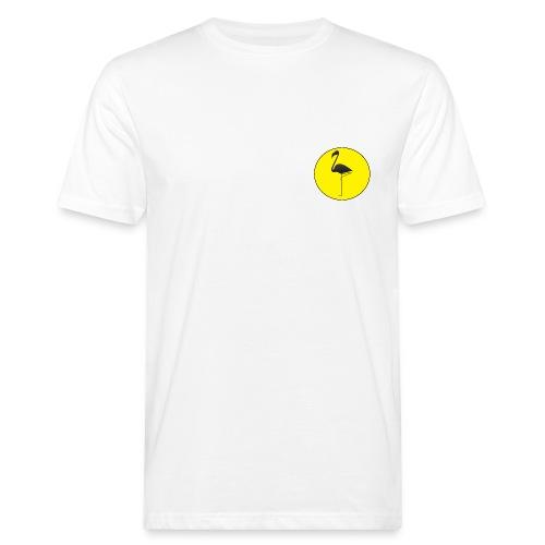 Silhouette Fenicottero - T-shirt ecologica da uomo