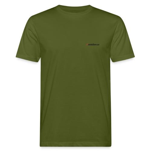 Utsidan logotyp - Ekologisk T-shirt herr