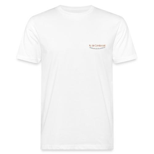 Condorcet rust - Summer 21 - T-shirt bio Homme