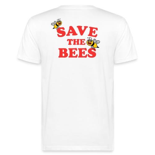 Save The Bees - Männer Bio-T-Shirt