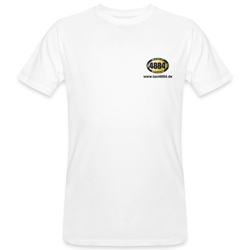 logovorne hinten dunkel - Männer Bio-T-Shirt