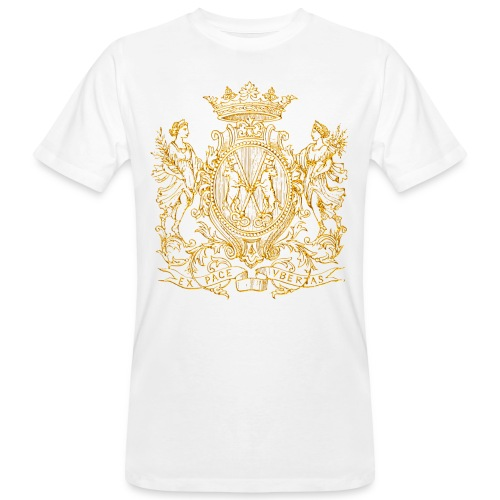 Peace and prosperity coat of arms - Camiseta ecológica hombre