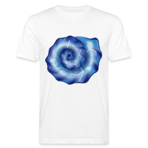 Galaktische Spiralenmuschel! - Männer Bio-T-Shirt