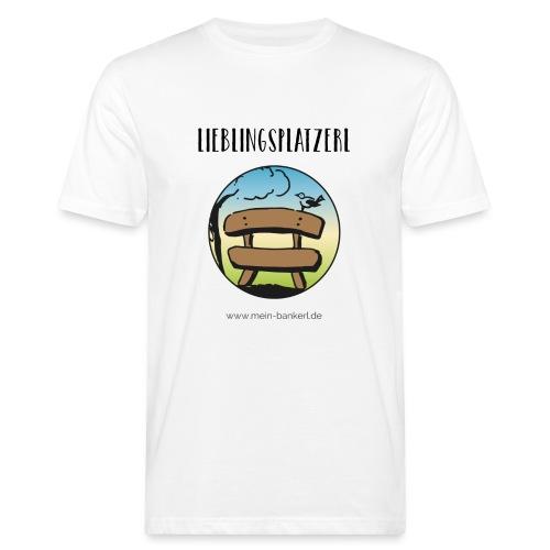 Lieblingsplatzerl MeinBankerl - Männer Bio-T-Shirt