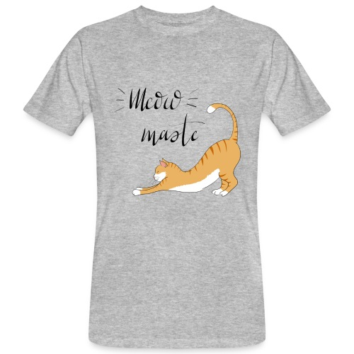 Meowmaste - Männer Bio-T-Shirt