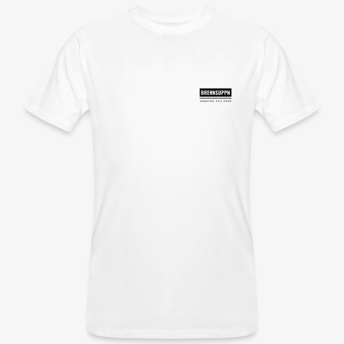 Brennuppn Surfing Square Shirt - Männer Bio-T-Shirt