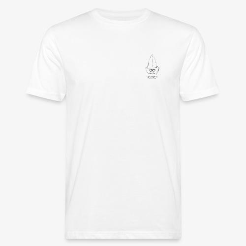 Frontprint BRENNSUPPN SCHÜSSEL - Männer Bio-T-Shirt