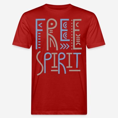 free spirit freedom - Männer Bio-T-Shirt