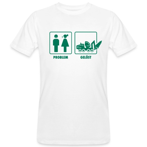 Forst | Problem gelöst - Männer Bio-T-Shirt