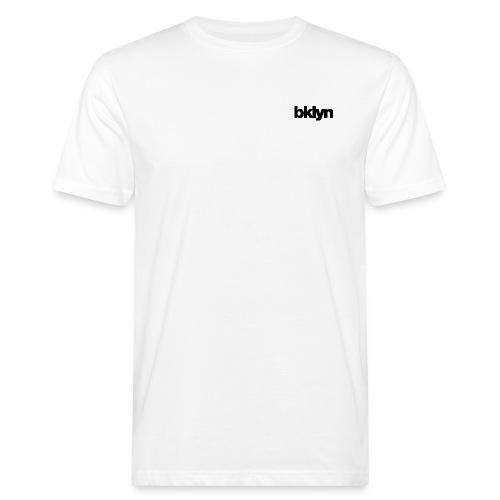 bklyn ⁄ jazz (white) - Men's Organic T-Shirt