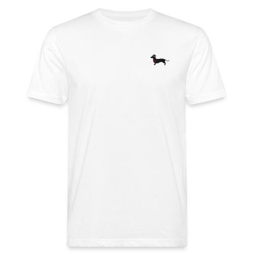 Dackelliebe -minimal- Der coole DonWaldino - Männer Bio-T-Shirt