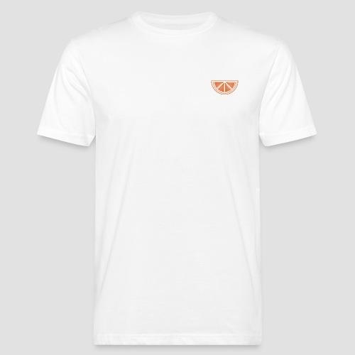 Mandarino design - T-shirt ecologica da uomo