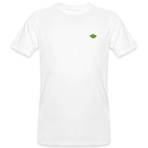 feuille verte - T-shirt bio Homme
