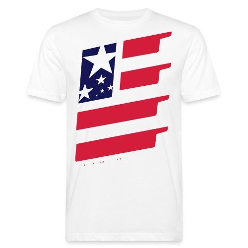 FlagUSA-URBAN - Camiseta ecológica hombre