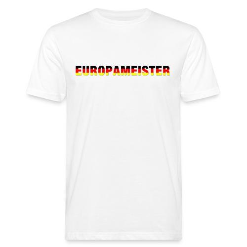Europameister - Männer Bio-T-Shirt