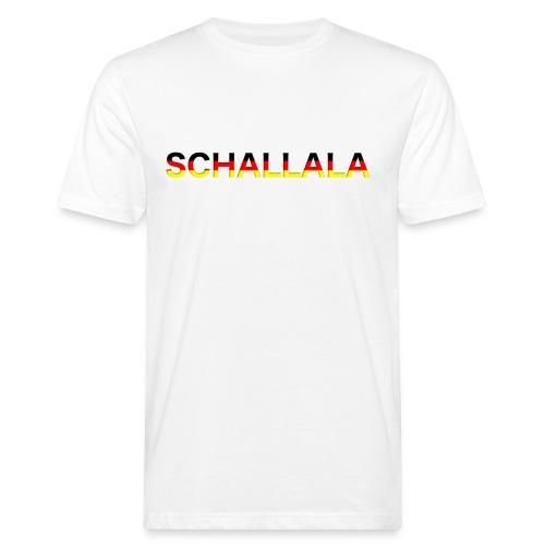 Schallala - Männer Bio-T-Shirt