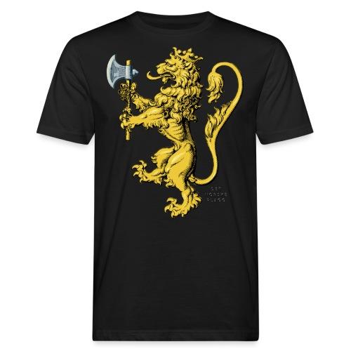 Den norske løve i gammel versjon - Økologisk T-skjorte for menn