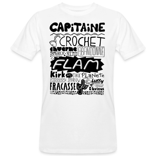 capitaine - T-shirt bio Homme