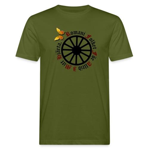 LennyhjulRomaniFolketisvartfjaerli - Ekologisk T-shirt herr